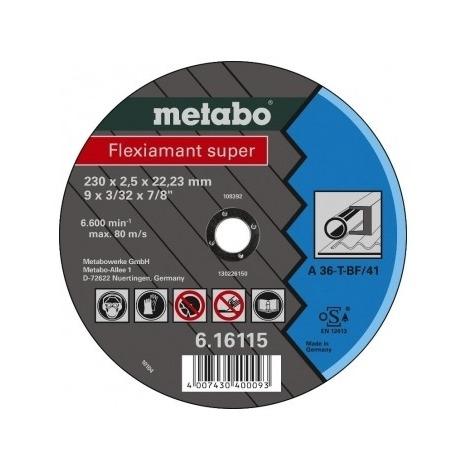 Купить Диск отрезной Metabo Flexiamant S