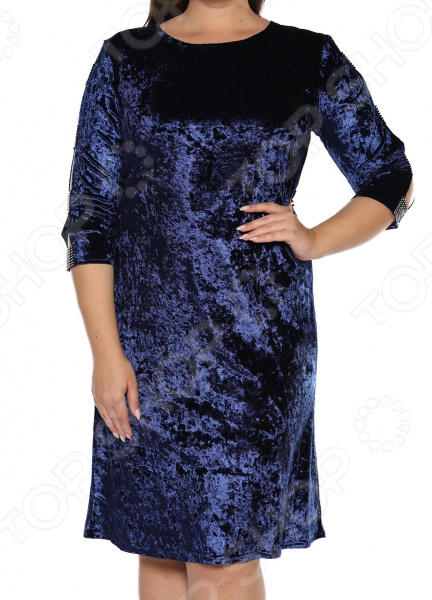 Платье Pretty Woman «Бархатный романс». Цвет: синий платье pretty woman неповторимая цвет розовый