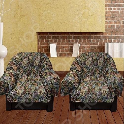 Комплект накидок на кресло МарТекс JМ-036