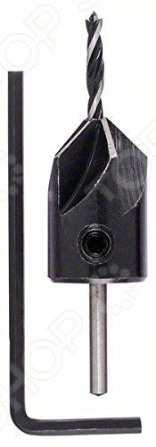 Сверло по дереву Bosch твердосплавное винтовое с зенкером сверло по бетону 4 0мм твердосплавное