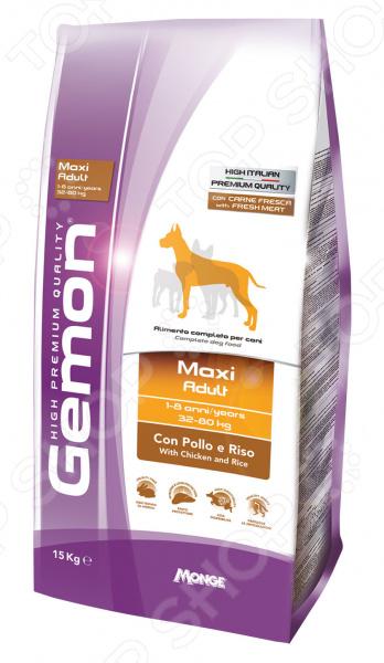 Корм сухой для собак крупных пород Gemon Maxi Adult With Chicken and Rice