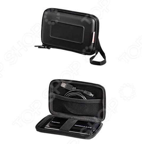 Чехол защитный для внешнего жесткого диска Hama H-95521 аксессуар чехол hama case 95521 black