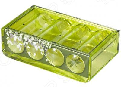 Мыльница Tatkraft Acryl 3D Magic Emerald