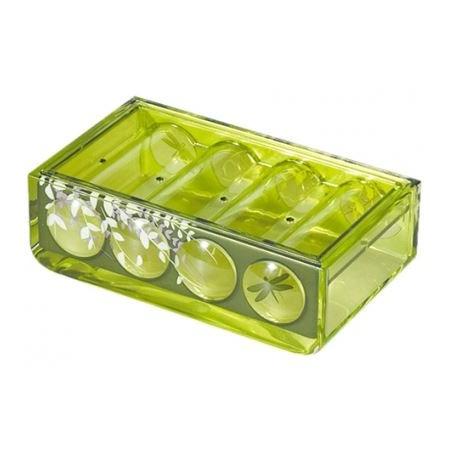 Купить Мыльница Tatkraft Acryl 3D Magic Emerald