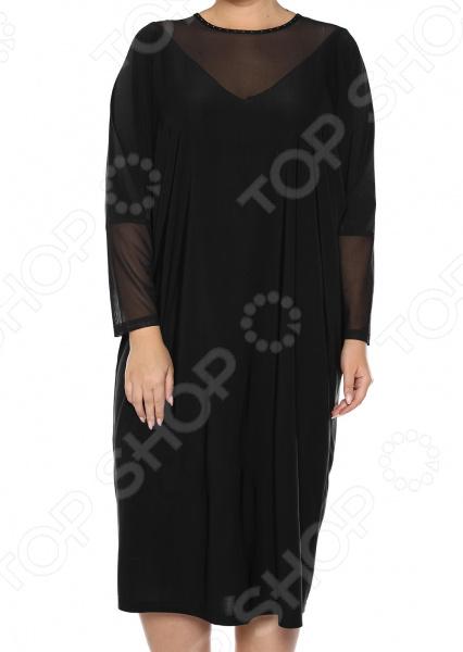 Платье «Лаурель». Цвет: черный платье футболка женское deha из трикотажного хлопка