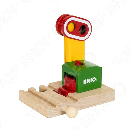 Сигнальный знак игрушечный Brio на магните