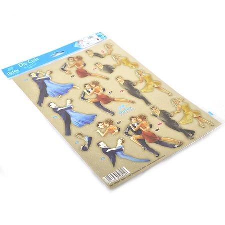 Аппликация металлизированная вырубная Reddy Creative Cards G759942