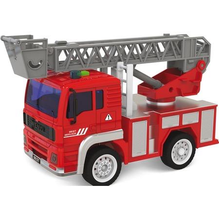 Купить Машинка игрушечная Taiko «Пожарная машина c выдвижной лестницей»