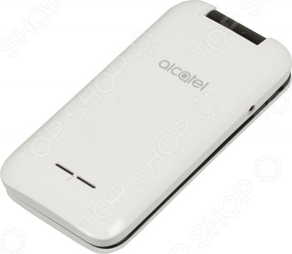 Телефон мобильный Alcatel OneTouch 2051D мобильный телефон alcatel onetouch 2051d белый 2051d 3balru1