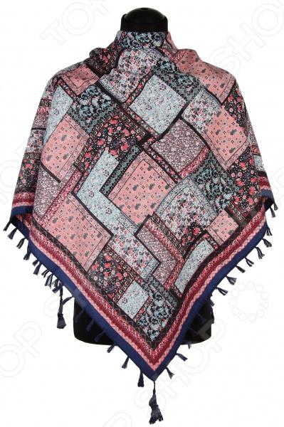Платок Bona Ventura PL.XL-H.Pr.31 недорогой платок на шею для женщин