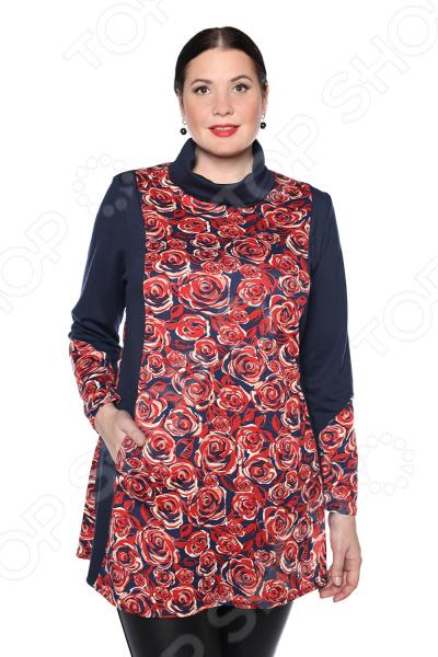 цена Блуза Pretty Woman «Бьянка». Цвет: красный онлайн в 2017 году