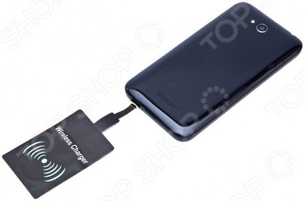 Аккумулятор для смартфонов беспроводной плоский Bradex с Micro USB разъемом 3