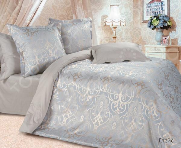 Комплект постельного белья Ecotex «Глейс». 2-спальный постельное белье ecotex комплект постельного белья герцогиня