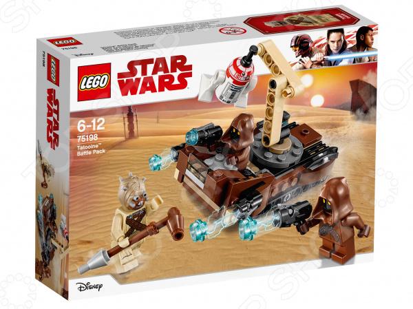 Конструктор игровой LEGO Star Wars «Боевой набор планеты Татуин»