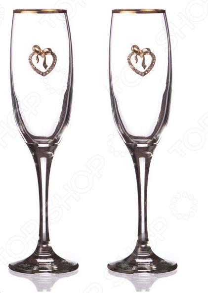 Набор бокалов для шампанского 802-510-10 набор бокалов для бренди коралл 40600 q8105 400 анжела