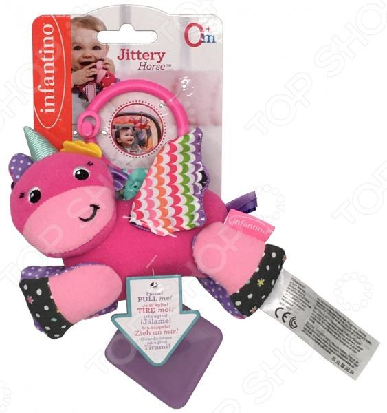 Игрушка-подвеска Infantino Jittery Horse игрушка для зубов people игрушка для зубов