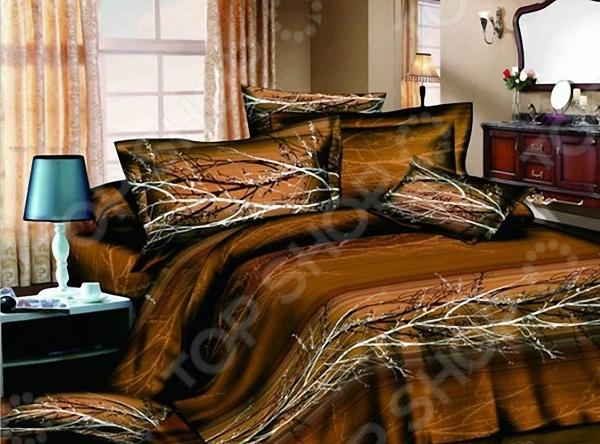 Комплект постельного белья с эффектом 3D «Осень». 2-спальный мар текс шторы 16 0043 1