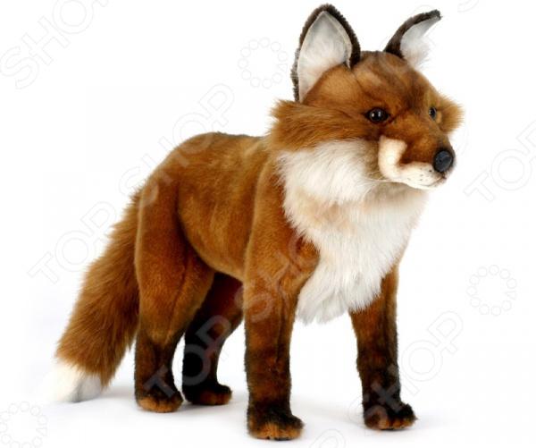 Мягкая игрушка Hansa «Рыжая лиса стоячая»