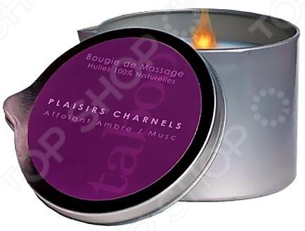 Аромамасло-свеча массажное Taboo Plaisirs Charnels,