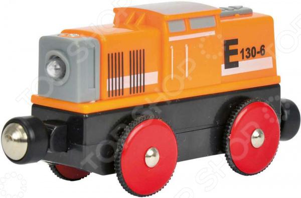 Локомотив игрушечный со световыми эффектами Eichhorn E 130-6