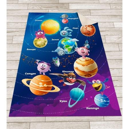 Купить Покрывало стеганое детское Сирень «Смешарики в космосе»