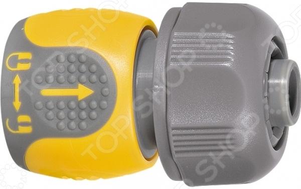 Коннектор для шланга PALISAD LUXE 66243 коннектор ремонтный для шланга truper пластиковый мама 1 2