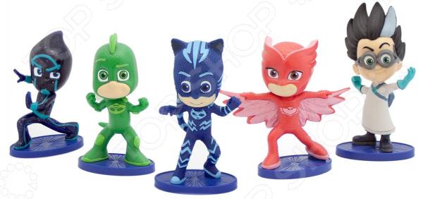 Набор фигурок игрушечных PJ Masks 33442 всё для лепки герои в масках pj masks набор алетт и ромео