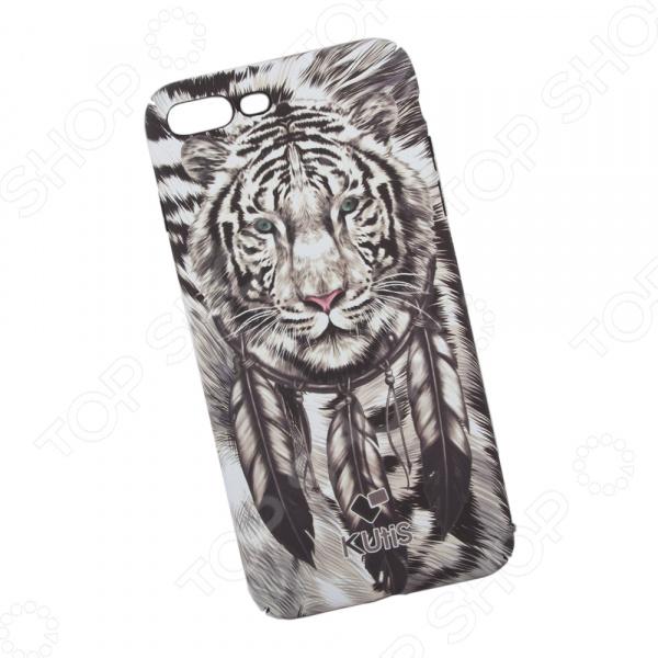Чехол для iPhone 7 Plus/8 Plus KUtiS Animals OK-4 «Тигр» чехол для iphone 7 8 kutis rainbow hairs dk 8