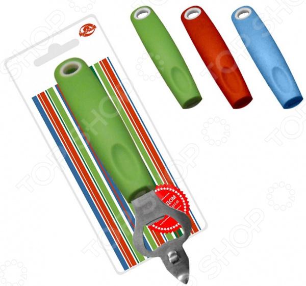 Открывалка для банок и бутылок Мультидом «Элегант» AN86-233. В ассортименте открывалка мультидом цвет в ассортименте