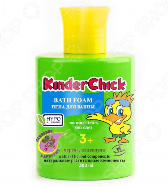 Пена для ванны детская KinderChick «Барбарис»