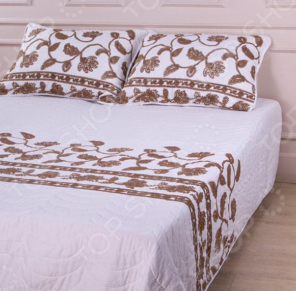 Комплект для спальни: покрывало и наволочки Santalino 806-029 для спальни