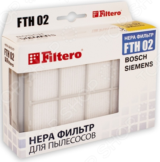 ������ ��� �������� Filtero FTH 02 BSH HEPA