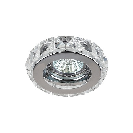 Купить Светильник потолочный встраиваемый Эра DK65 CH/WH