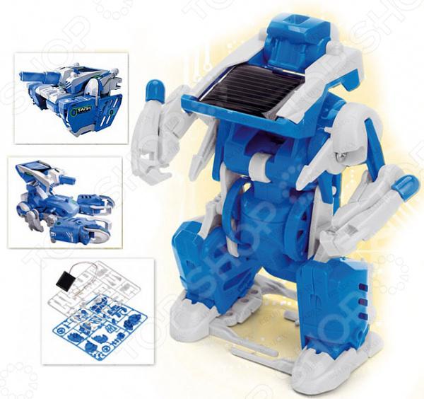 Конструктор на солнечной батарее Bradex 3 в 1 «Робот-трансформер» конструктор bradex трек трейн сэт