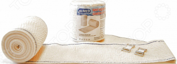Бинт медицинский эластичный высокой растяжимости ALMED БВ