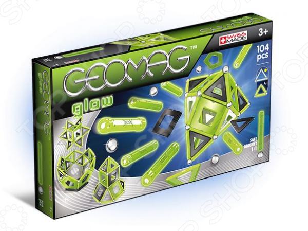 Конструктор магнитный Geomag 337 Glow