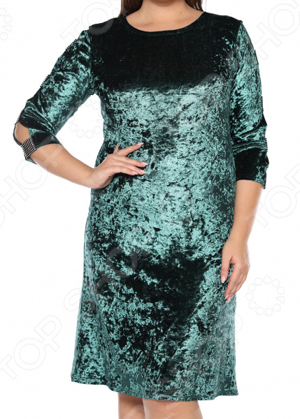Платье Pretty Woman «Бархатный романс». Цвет: зеленый платье pretty woman прелестная женщина цвет зеленый