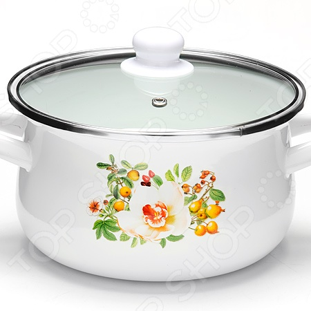 Кастрюля с крышкой Mayer&Boch «Весеннее настроение» посуда кухонная