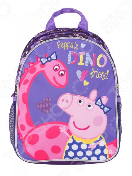 Рюкзак дошкольный Peppa Pig средний «Дино»