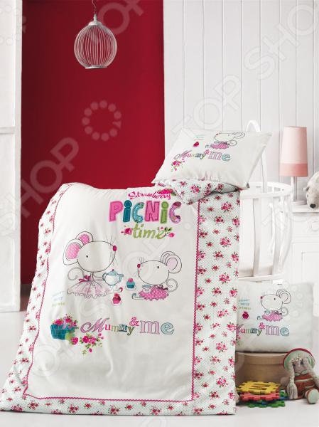 Детский комплект постельного белья Issimo Home Picnic Time
