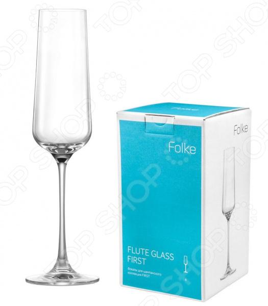 Набор бокалов Folke Flute Glass набор бокалов crystalex ангела оптика отводка зол 6шт 400мл бренди стекло