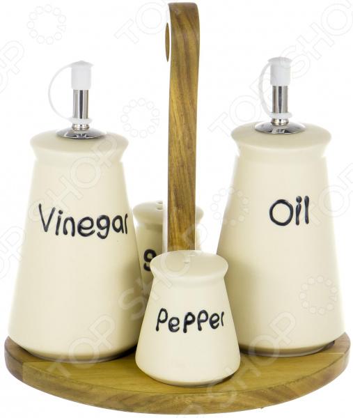 Набор емкостей для специй, масла и уксуса Elrington «Суфле»
