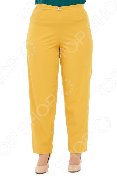Брюки Blagof «Президентский прием». Цвет: горчичный брюки blagof брюки зауженные