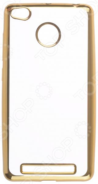 Чехол защитный skinBOX Xiaomi Redmi 3 S/Redmi 3 Pro skinbox накладка shield 4people для xiaomi redmi 3 pro