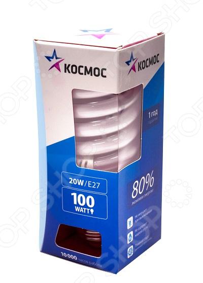 Лампа энергосберегающая Космос E27 4000