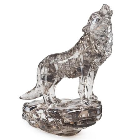 Купить Пазл 3D Crystal Puzzle «Черный волк»