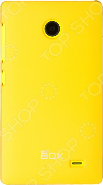 Чехол защитный skinBOX Nokia X/X+ чехлы для телефонов skinbox накладка для lg nexus 5 skinbox серия 4people защитная пленка в комплекте