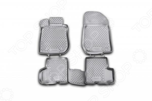Комплект ковриков в салон автомобиля Novline-Autofamily Renault Logan 2004-2009 / 2010 комплект ковриков в салон автомобиля novline autofamily renault megane ii 2002 2009