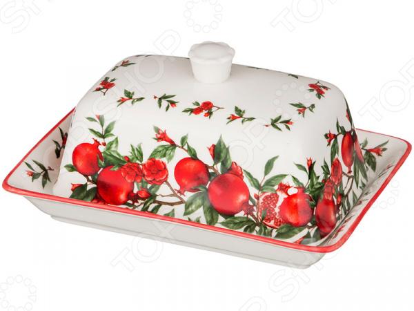 Масленка Lefard «Гранаты» 388-521 просто вкусно праздничный стол