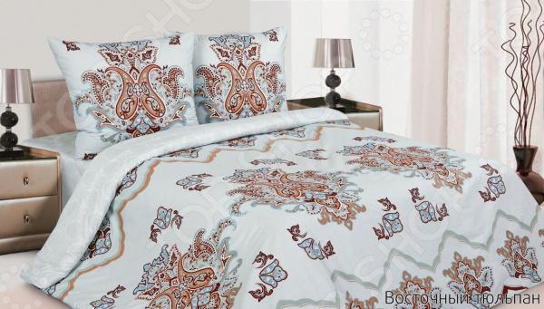 Комплект постельного белья Ecotex «Восточный тюльпан» ecotex постельное белье элизабет